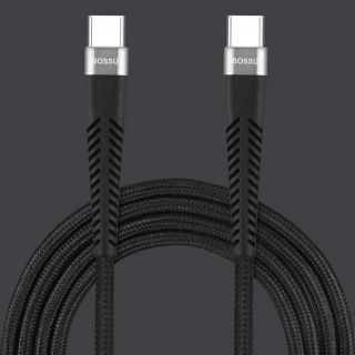 BOSSÜ Type C to Type C Charging Cable